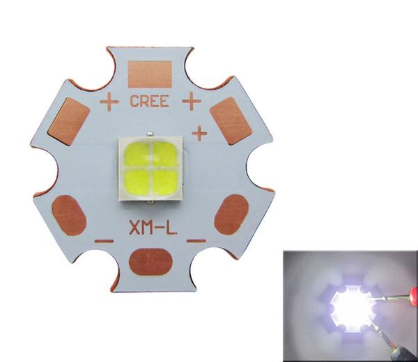Cree XHP50 Beyaz 6000-6500k Led Chip Işık 6V 20mm Bakır PCB Kartı ile