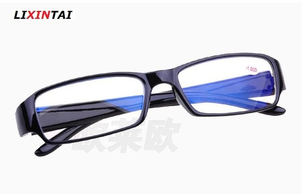 Wholesale Various models Blue film radiation Computer protection Shortsighted glass Unisex With degrees Myopia Read glasses Spectacle frame