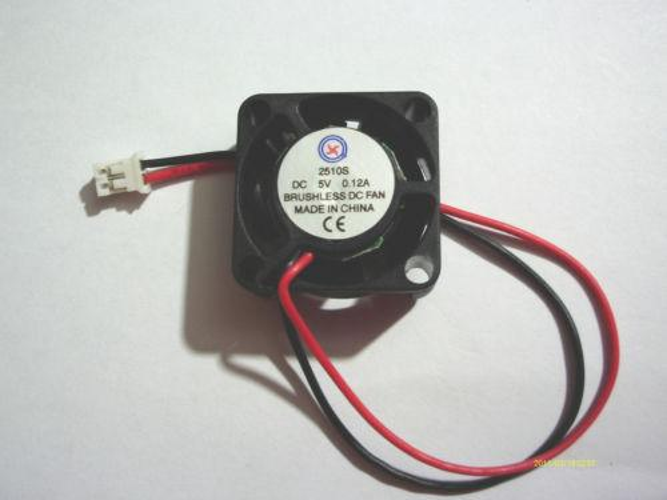 10pcs Brushless Fan 5 Blade 5V 2510S DC Cooling Fan