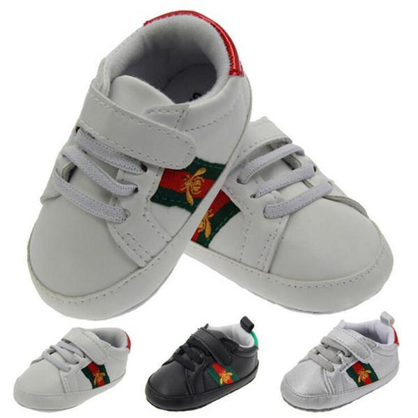 73e41fdcf Venta al por menor de zapatos nuevos para bebés Lona transpirable 3-12 meses  Zapatos
