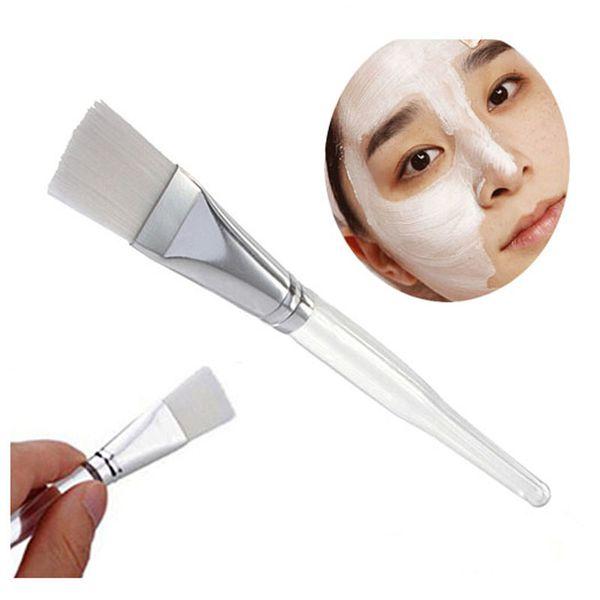 3Pcs Facial Mask Brush Kit Makeup Brushes Eyes Face Skin Care Masks Applicator Cosmetics Make Up Mask Brush Tools Clear Handle