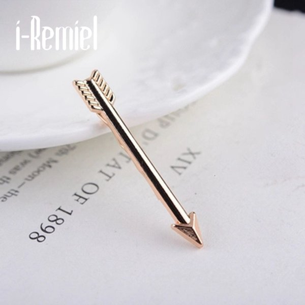 i-Remiel 2017 Brooch Plated Trendy Men Broche Brooches For New Hot Clip On High-end Men's Business Suits Bow Tie Brooch Male Accessories