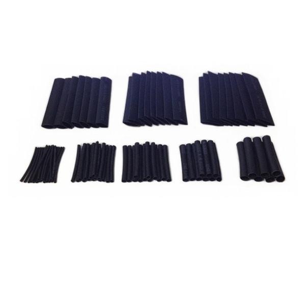 150pcs 8 Sizes Assortment Heat Shrinkable Tube Shrink Tubing 1.0/2.0/3.0/4.0/6.0/8.0/10.0/13.0mm Sleeving Wrap Wire Cable Kit BL e-shop