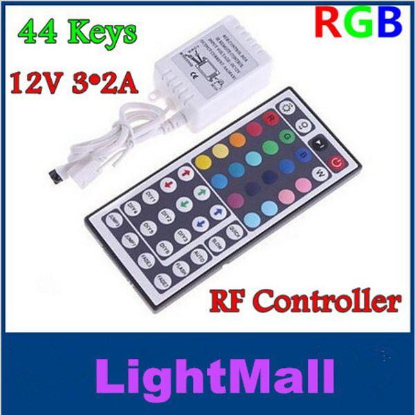 Cheap new 12V 3*2 A 44 Keys LED Controller IR Remote controller for RGB LED Strip Light 3528 SMD 5050 SMD