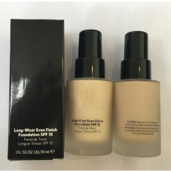 Skin Foundation Long-Wear Even Finish Foundation Foundation Liquid 30ML DHL Free shipping top quality