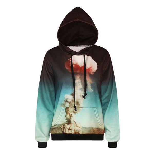 w1208 Alisister cute mushroom cloud hoodies sweatshirt swag funny men/women pullover 3d print hooded sportswear unisex tops clothes