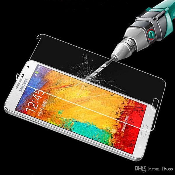Premium Real Tempered Glass Film Screen Protector for Samsung Galaxy S3 S4 S5 S6 Edge Note 2 3 4 Good Quality Explosion Shatter Proof
