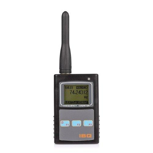 Mini Handheld Portable Frequency Counter Meter Detector With LCD, Wireless Mini Camera RF Signal Bug Detector, For Room Security Checking