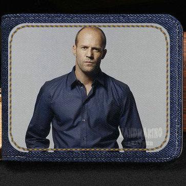 Jason Statham portefeuille Super star sac à main homme fort court caisse à billets argent notecase sac à bandoulière en cuir porte-cartes