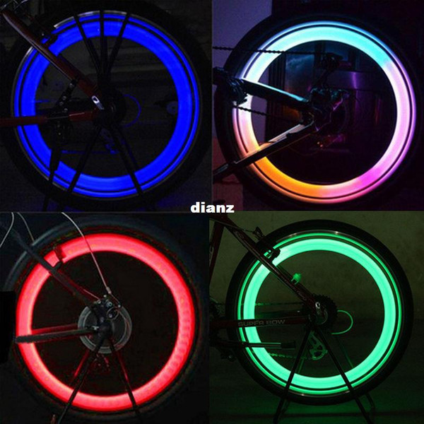 Fashion Hot Vogue Bright Bike Bicycle Cycling Car Wheel Tire Tyre LED Light Lamp