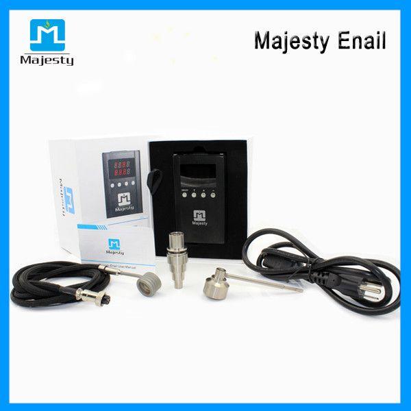 electric d nail e cigarette digital enail vaporizer kit enail kit dnail kit for dry herb smoking e-cigarette free shipping