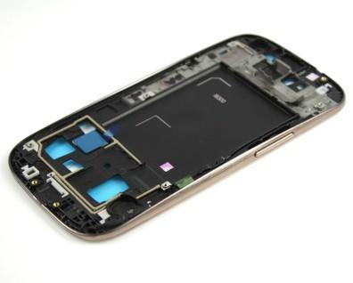 Wholesale-Housing Metal Frame Front Bezel Cover For Samsung Galaxy S3 III i9300