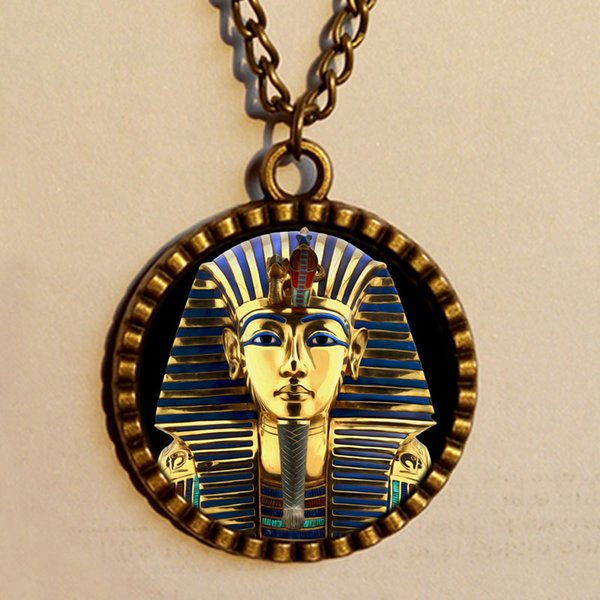 Wholesale hot king tut necklace chain tutankhamun golden king wholesale hot king tut necklace chain tutankhamun golden king antique art pendant egyptian jewelry chain distributor aloadofball Gallery