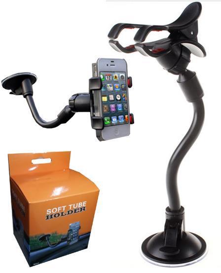 360 Derece rotasyon araba Tutucu Iphone 6 Akıllı Telefon Için Evrensel Araç Tutucu PDS GPS Kamera Perakende Kutusu Ile Dekoratör DHL Ücretsiz OTH162