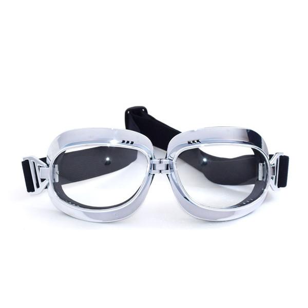 2017 Novo MJMOTO Motocicleta capacete Óculos de Proteção para À Prova de Vento Moto rosto aberto do vintage óculos de proteção óculos clássicos para harley