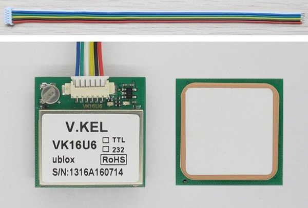 2pcs lot VK16U6 ublox GPS module +free shipping order<$18no track