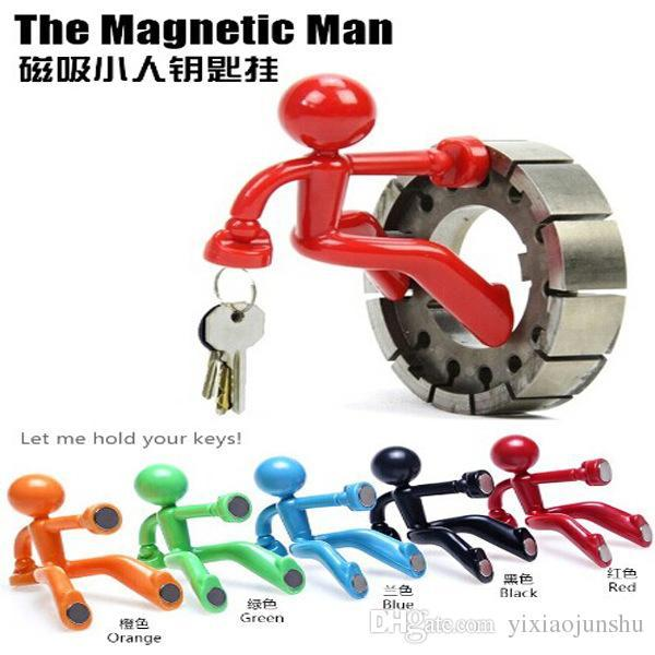 Novelty Wall Climbing Boy Magnetic Key Holder Key Pete Keychain Magnetic  Climbing Man Key Holder Holds