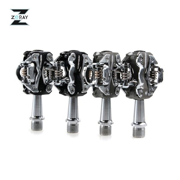 ZERAY Original Sealed Bearing Cycling Road Bike MTB Bike Ultralight Pedals Die Casting Aluminum Pedals Bicycle Parts ,2 Colors