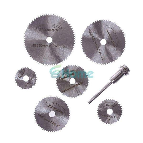 New Portable Rotary Tool Circular Saw Blades Cutting Discs Mandrel For Dremel Cutoff #56400