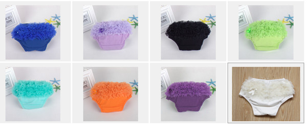 top popular 20pcs Baby Cotton Ruffles chiffon Bloomer Tutu PP Pants Infant Toddler Briefs Skirt Shorts Layers Skirts Diaper Cover Underwear PP001 2019