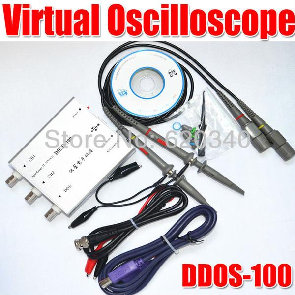 2019 HDSO 100 Upgrade Version DDSO 100 USB Oscilloscope Portable Virtual  Oscilloscope 50M Bandwidth Sampling 100M Signal Generator Order≪$18no Tr