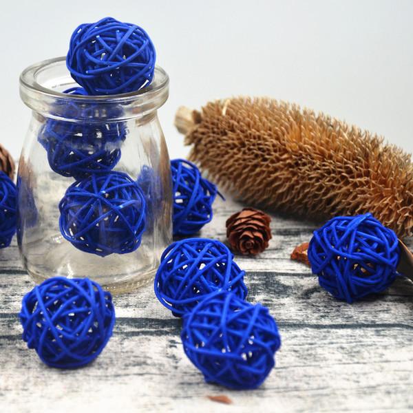 3cm Rattan Wicker Cane Ball 3cm Decoration Rattan Balls for Home Garden Patio Wedding Birthday Party decoration