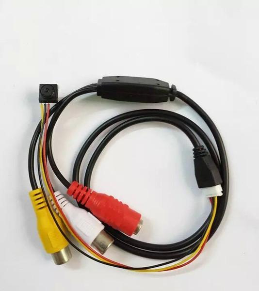 Mini telecamera CCTV 8MMx8MM 540 TV Line con alimentatore