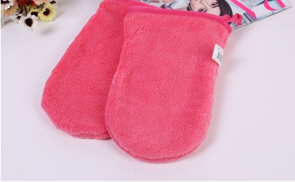 2017 New Reusable Microfiber Facial Cloth Face Towel Makeup Remover Cleansing Glove Tool Beauty Skin face Washcloth