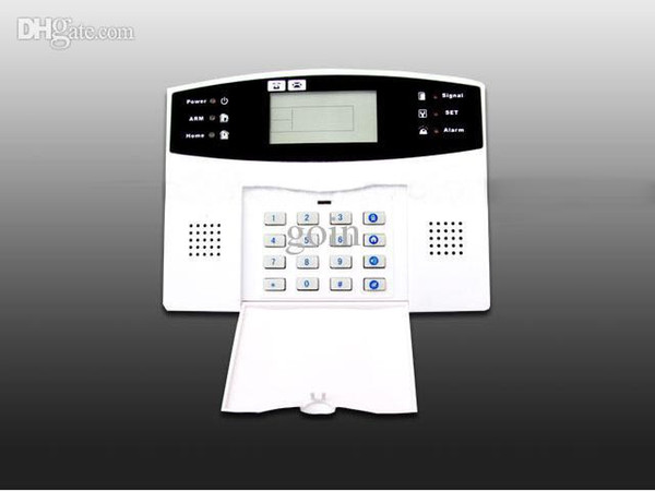 Wholesale-Free shipping Smart Home Security GSM Alarm System Security home alarm system