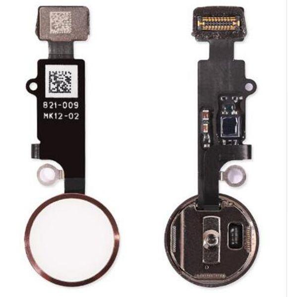 Yeni 7G 7 Artı Ev düğme Flex Kablo iPhone 7 Için 7 artı Ev Anahtar Kap Flex Meclisi Yedek Parçalar