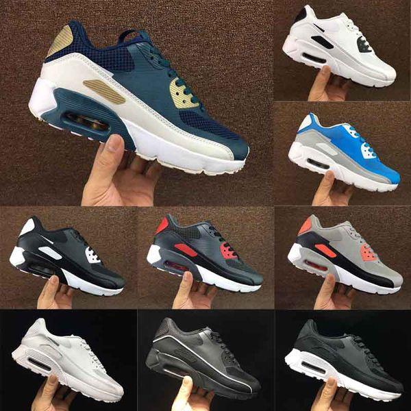 Sapatas Dos Homens de alta Qualidade Sapatos Clássicos Homens Sapatos de Corrida Preto Vermelho Branco Sports Trainer Almofada Superfície Respirável Sapatos de Esportes 4