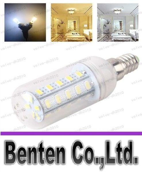 LLFA7895 LED luz cálida blanca E27 LED bombillas 7W 9W 12W 15W 18W 3000 lúmenes SMD 5730 con cubierta 56 leds GU10 E14 B22 G9 luces LED de maíz