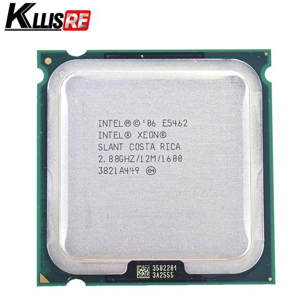 Procesador de cuatro núcleos Intel Xeon E5462 2.8GHz 12Mb 1600MHz funciona en LGA775