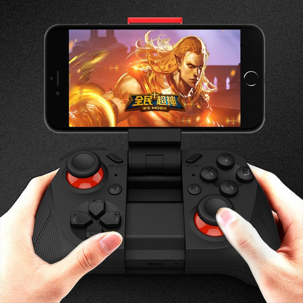 best selling Free DHL Bluetooth wireless gamepad for android ios pc tv tv box wireless controller