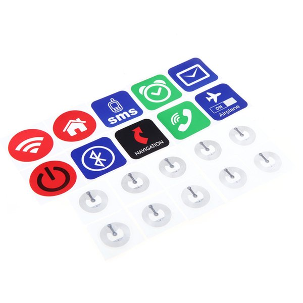 Smart NFC Tags Functional NFC Labels For Samsung Galaxy S5 S4 Note 3  ForLumia 920 Sony Xperia Nexus 5 Electronic Key Card Electronic Key Card  Locks