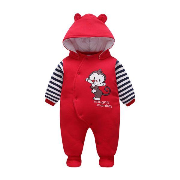 b83f494099d2 2019 Baby Romper 2017 New Boy Cartoon Outdoor Clothes Girl Warm ...