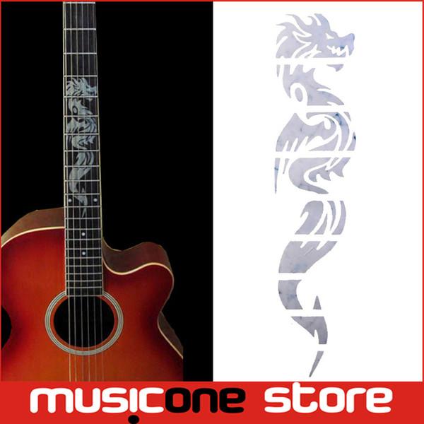 Гитара инкрустация наклейки Дракон Guitarra гриф наклейки/ маркеры для гитары Ладу шеи MU1288-9
