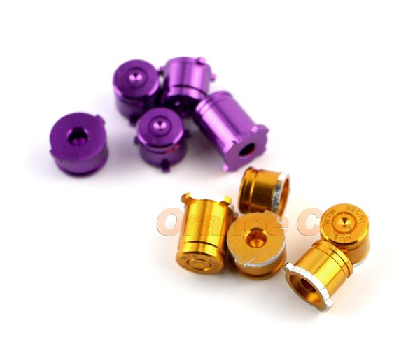 HOT NEW ! Aluminum Alloy Metallic Metal buttons for xbox one abxy with guide bullet buttons