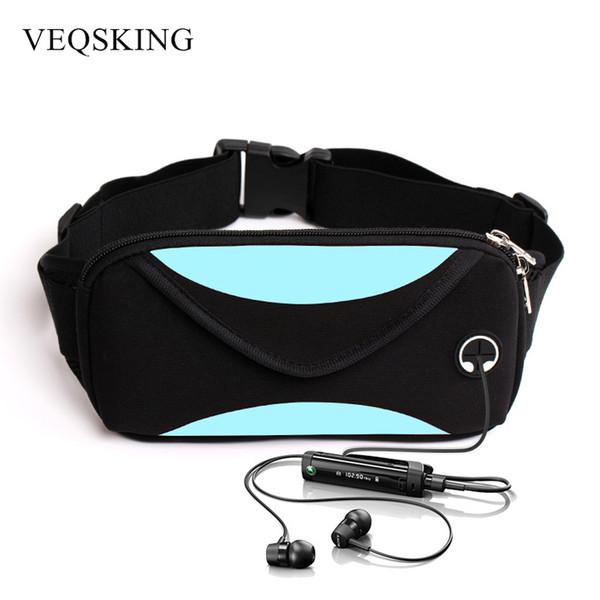 Gros-unisexe en cours d'exécution sac de taille, sac de taille de sport, étui de téléphone portable imperméable à l'eau, sac de ceinture de gymnastique Runnning sac de sport accessoires