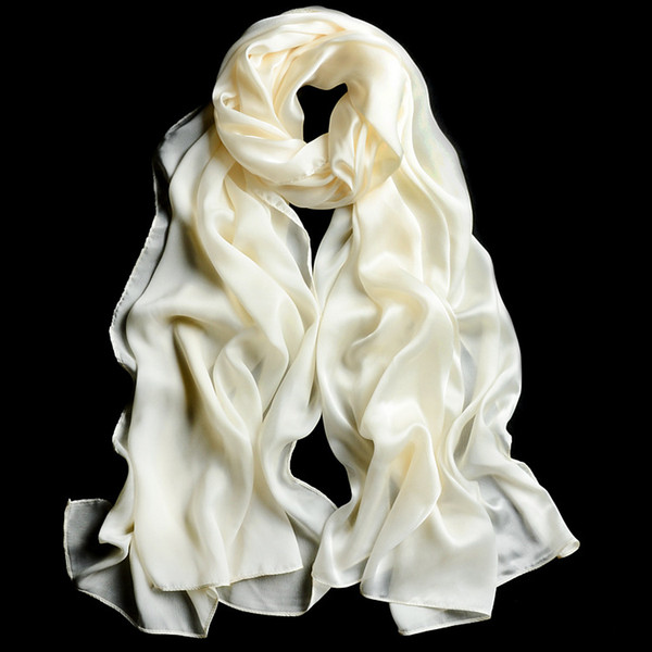 Autumn Winter Bridesmaid Shawl 2018 New Satin Bridal Wraps Long Wedding Scarves Size 200*70cm Drop Shipping