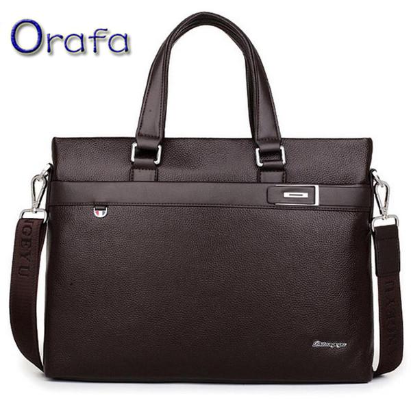 Atacado- 2016 moda homens messenger bags homens bolsas de couro genuíno preço do dólar de alta qualidade bolsas de luxo homens sacos de designer