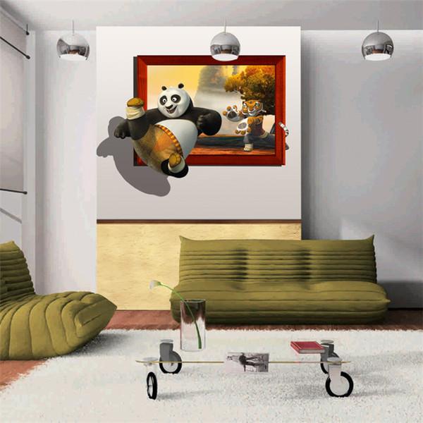 3D Kung Fu Panda Fototapete Lustige Tapete Filmplakat Groß Hintergrundbild  Schlafzimmer Flur Kinderzimmer Scherzt Zimmer Home