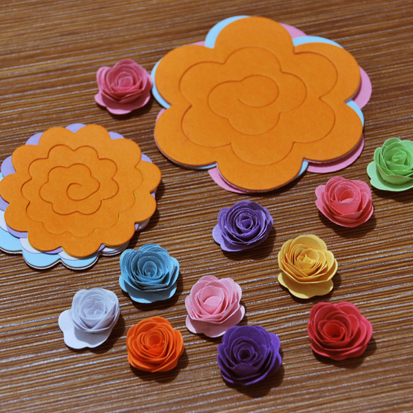 2019 authentique qualité fiable vraie affaire 2019 Paper Quilling Flowers Rose Paper Handmade Material Accessories From  Chenbinfeng, $7.03 | DHgate.Com