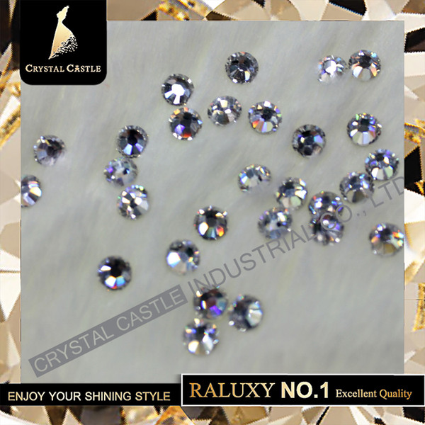 541ed541799f8a Grade AAAAA Hot Brilliant SS20 4.6mm to 4.8mm Clear Crystal Hot Fix  Flatback Strass