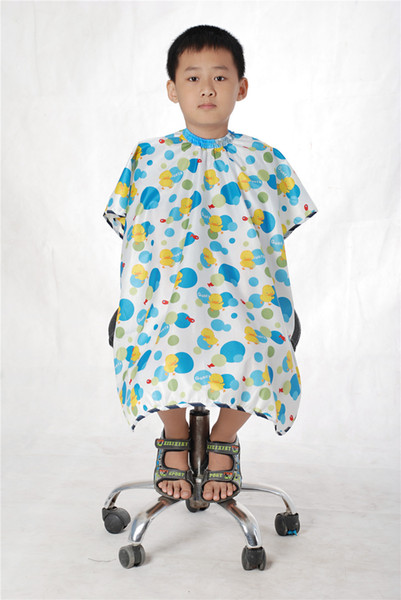 Salon Hairdressing kids capes children Professional hair cutting clothes beauty kid hairdressing capes Salon Barber smock for baby kid's