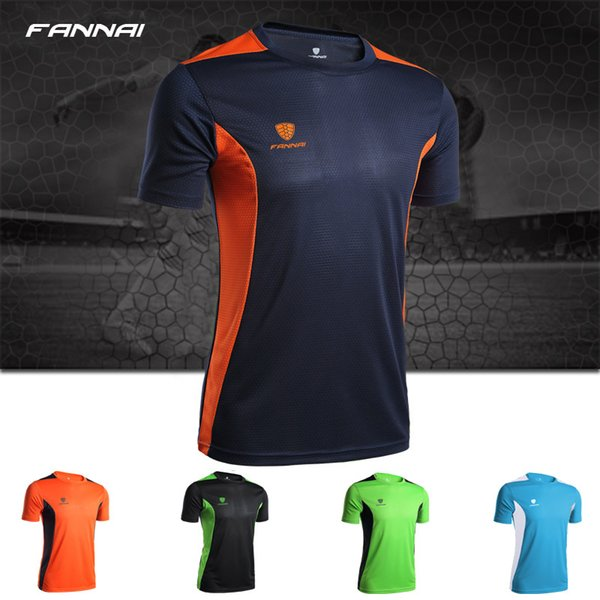 Mens Designer T Shirts Quick Dry Sports Casual Short Sleeve Patchwork O Neck Loose Solid Freedom Movement Clothes
