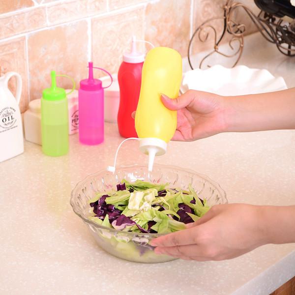 Wholesale- New Plastic Fondant Cake Decorating Tools Salad Dressing Bottle Jar Kitchen Cooking Tool S M Size Cake Decorating Tool Baking