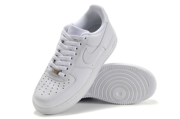 the latest 64bf6 0d53a 2019 Nike Air Force 1 Men / Women Skate Shoes To Help Low Sneakers Size: 36  45 From Bestnk, $43.66 | DHgate.Com