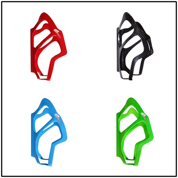BC1030 super weightl many colors carbon fiber bike water bottle cage blue/green/red/red /black color