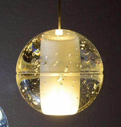 bubble pendant lamp